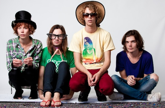 Tame Impala quartet