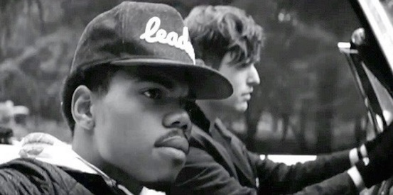 James Blake and Chance The Rapper