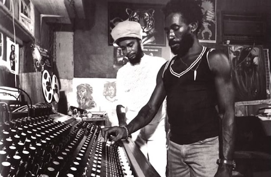 Max Romeo and Lee Perry