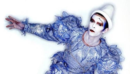 David Bowie Pierrot